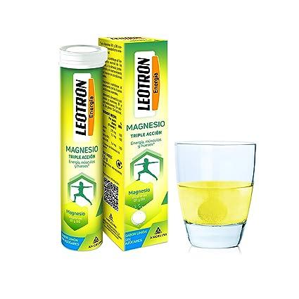 Leotron Magnesio - 4 Paquetes de 15 Comprimidos