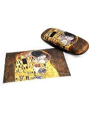 Gustav Klimt - The Kiss Glasses Case & Art Lens Cloth
