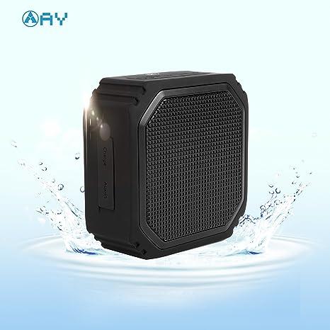 AY LED Altavoz Portátil Bluetooth, Mini Altavoz Estéreo inalámbrico HD, Reproductor de Música Junto a la Cama Micrófono Incorporado y luz cambiante de Color para Fiestas, Viajes. (Mini): Amazon.es: Electrónica