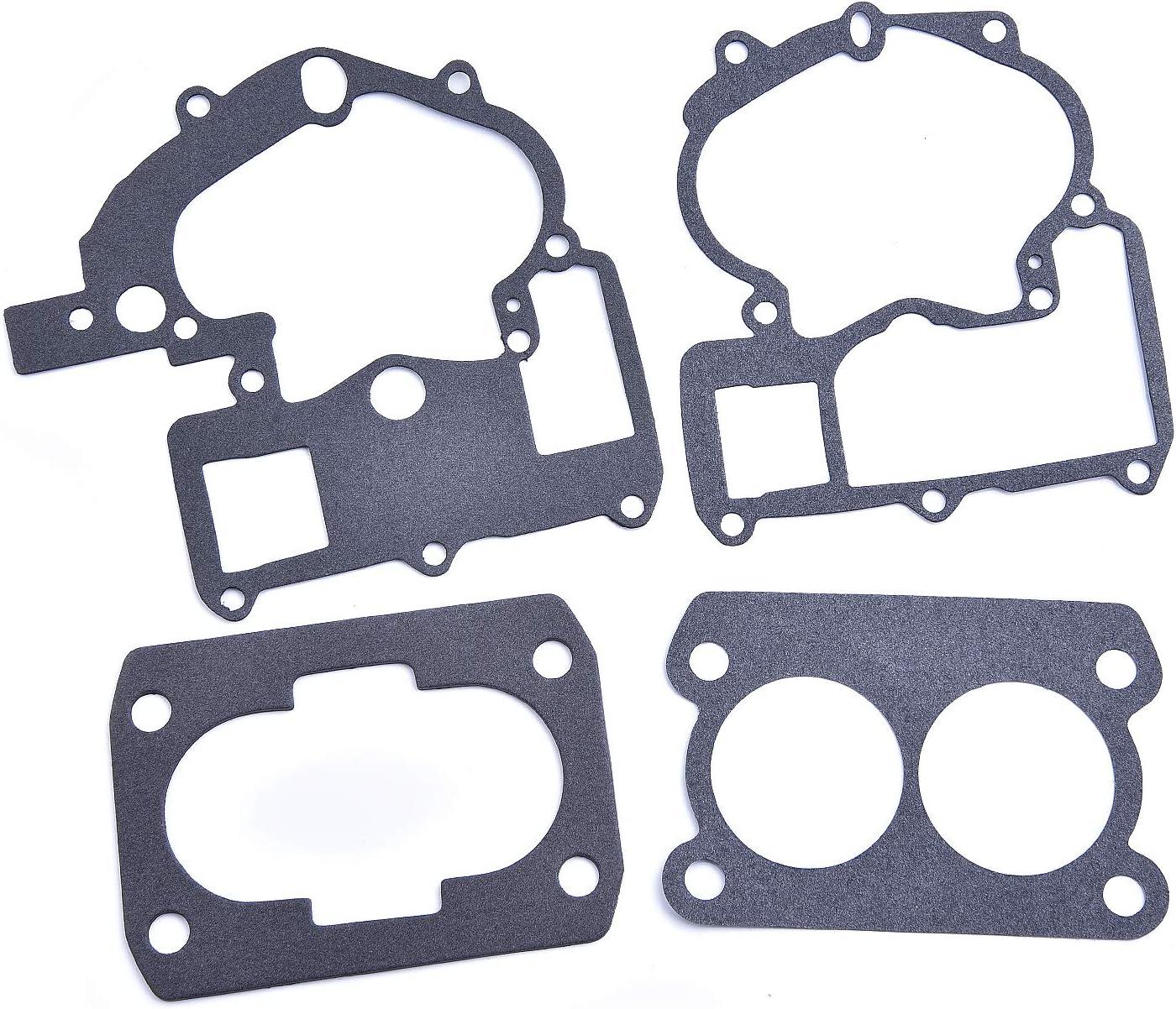Wingsmotor Kit de r/éparation de carburateur pour Mercruiser 3.0L 4.3L 5.0L 5.7L Mercury Marine