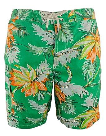 Amazon.com: Polo Ralph Lauren Men\u0027s Big \u0026 Tall Tropical Flower Swim Trunks:  Clothing