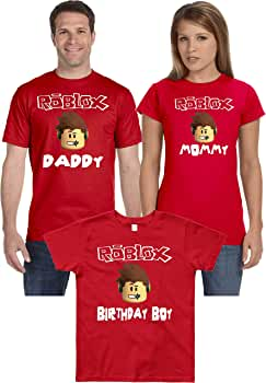 Amazon Com Birthday Boy Funny Cute Family Matching Shirts Mommy