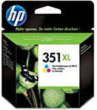 HP 351XL - Cartucho de tinta Original HP 351XL de álta capacidad Tricolor para HP DeskJet , HP OfficeJet, HP PhotoSmart