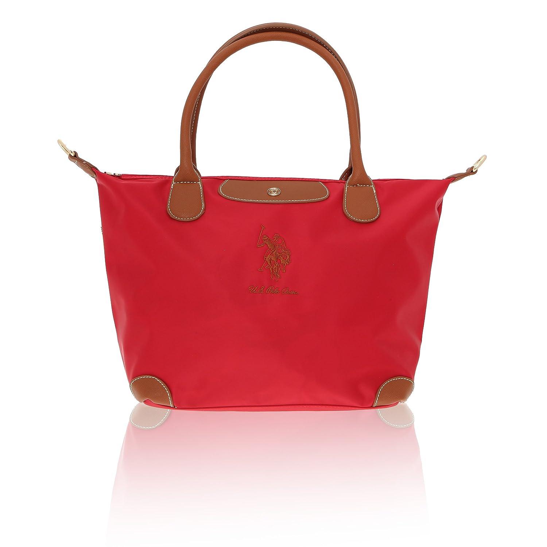U.S.Polo Assn. Damenhandtasche - 28-40x29x16 cm B07BH2ZKHB Henkeltaschen Einfach zu bedienen