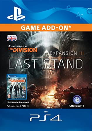Tom Clancy's The Division Last Stand Edition DLC [PS4 Download Code