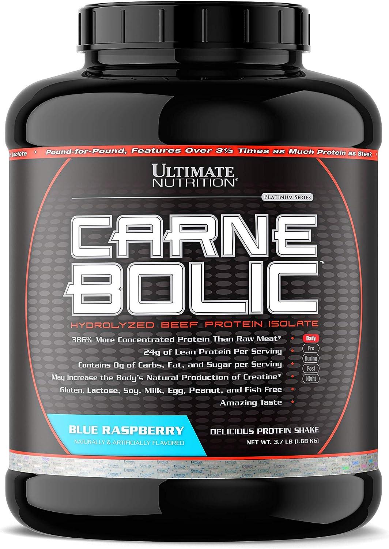 Carne Bolic - Hydrolized Beef Protein Isolate Blue Raspberry ...