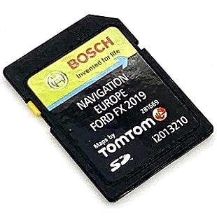 Última tarjeta SD 2020/2021 para Ford MFD V10 tarjeta SD navegación GPS mapa 2020/2021 Sat Nav mapa actualización cubierta toda Europa, número de parte: i2013305: Amazon.es: Electrónica