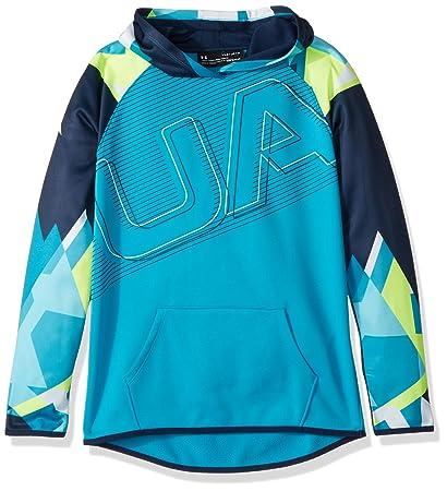 adfd8ae4 Under Armour Girls Armour Fleece Logo Hoodie: Amazon.ca: Sports ...