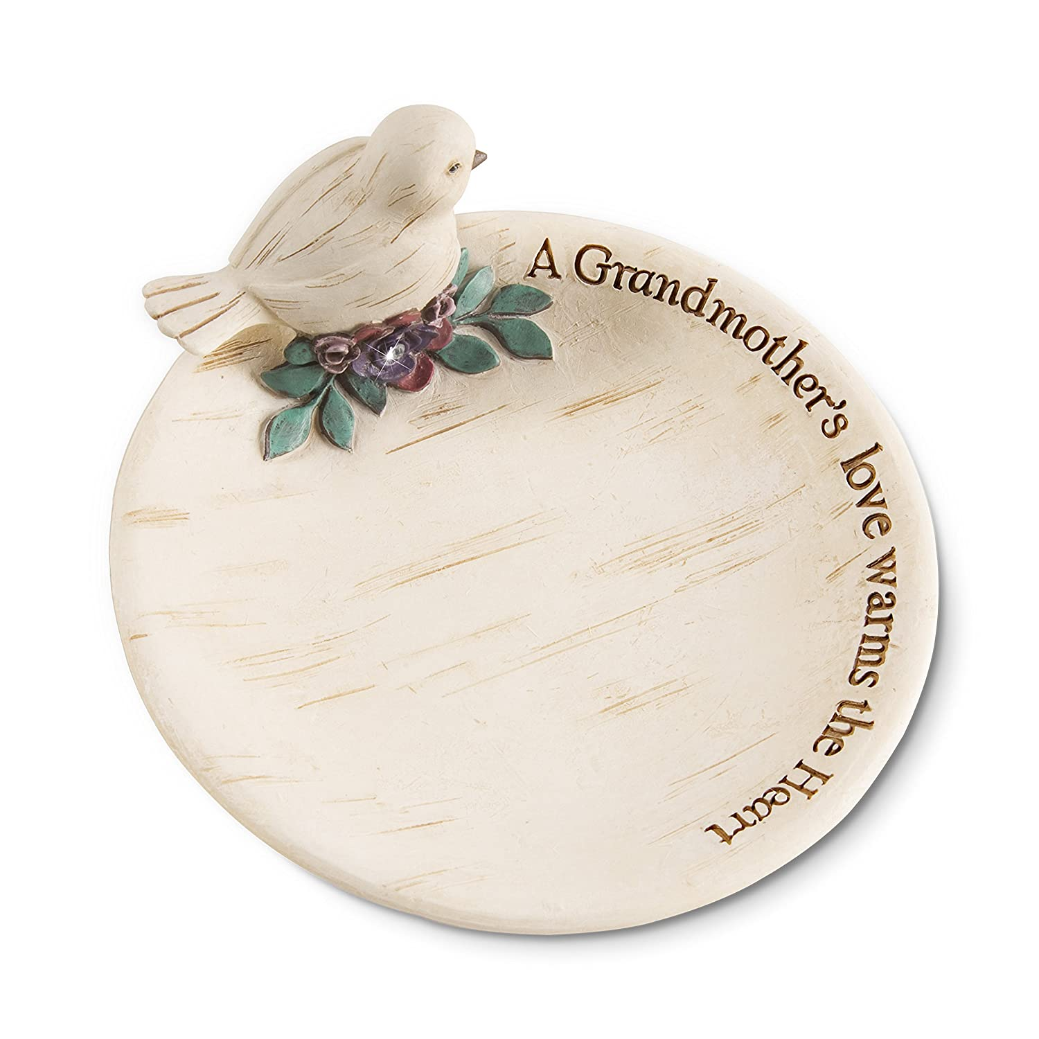 "Pavilion Gift Company 41082 Grandmother Keepsake Dish, 4"" 4"""