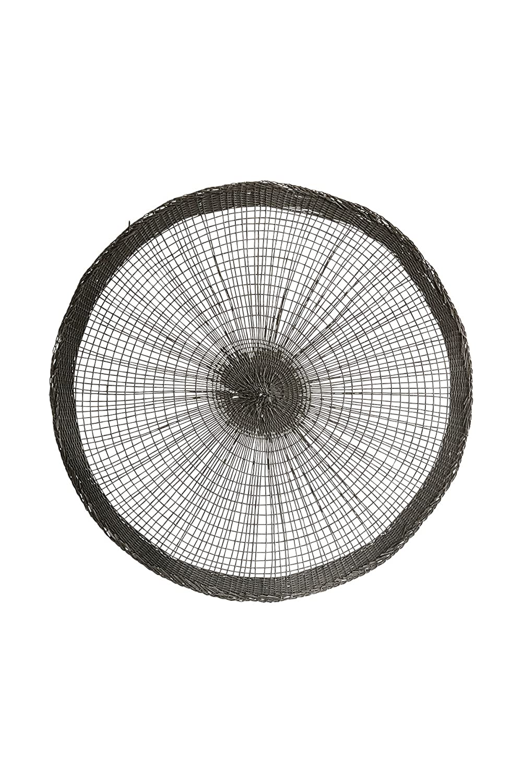 Round Grey Placemat Spokes 38cm Diameter