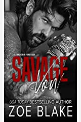 Savage Vow: A Dark Mafia Arranged Marriage Romance (Ivanov Crime Family Book 1) Kindle Edition