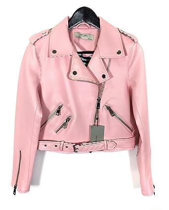 Zara - Chaqueta - para mujer rosa rosa Medium: Amazon.es: Ropa y ...