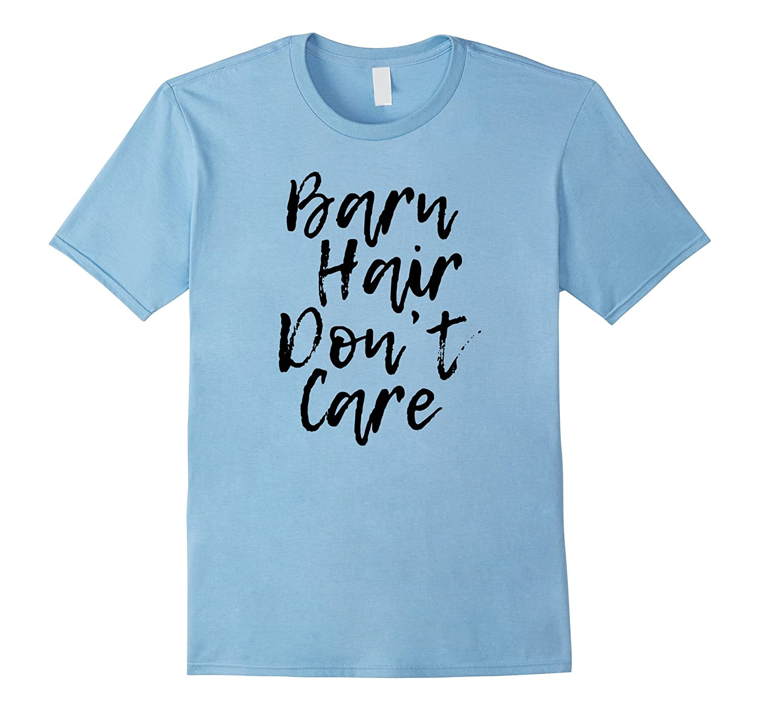 Barn Hair Don't Care Cute Horse T-Shirt for Women Girls Kids-AZP