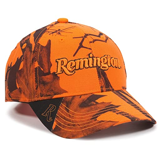1d73c88d9 Outdoor Cap Remington Cap, Blaze Camo, Adult