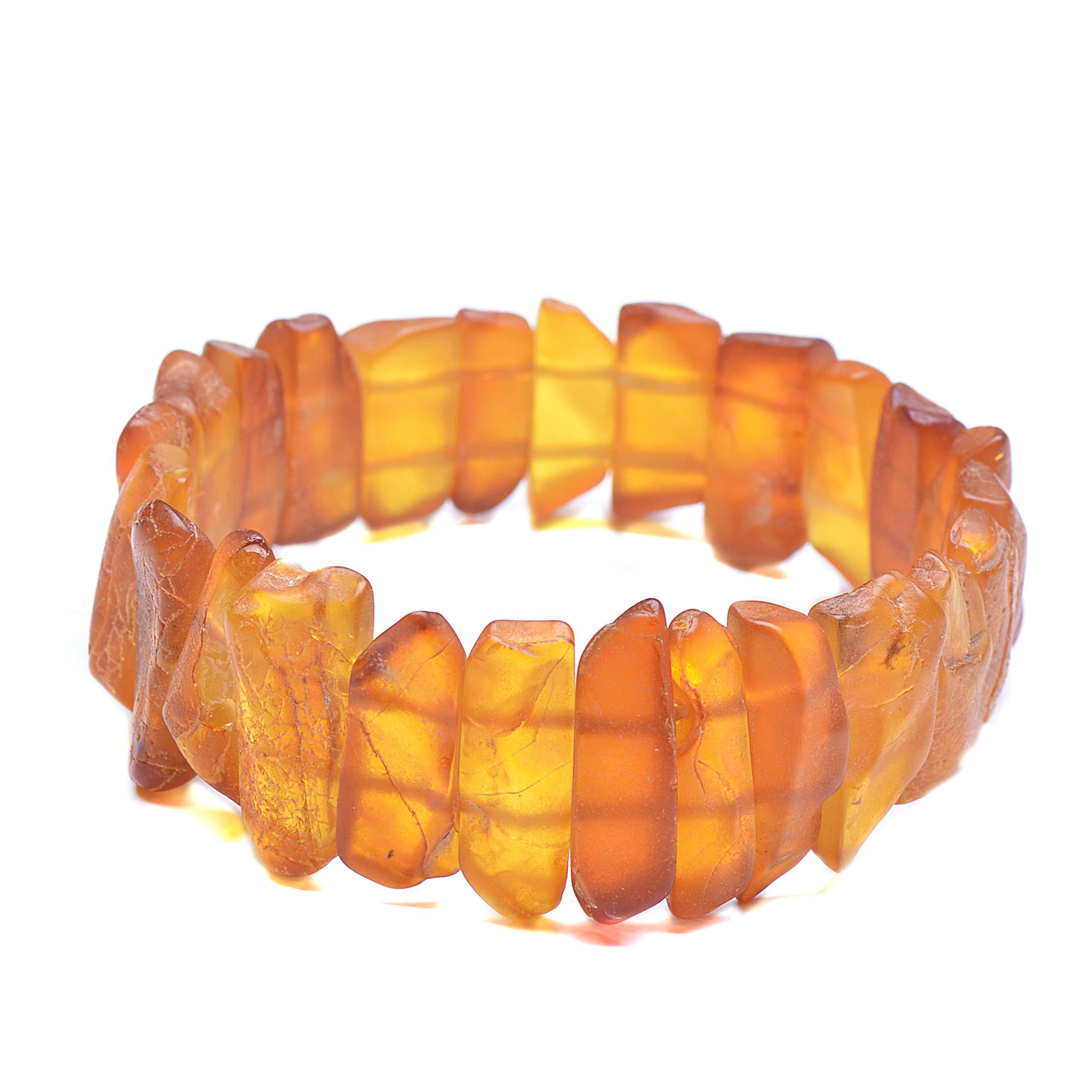 Amber Bracelet - Unique Amber Bracelet - Exclusive Amber Bracelet - Vintage Bracelet - Genuine Baltic Amber by Genuine Amber (Image #3)