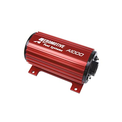 Aeromotive 11101 Red Fuel Pump (A1000 - EFI or Carbureted Applications): Automotive