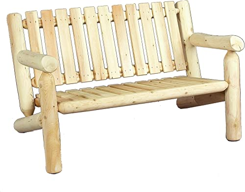 Cedarlooks 0100006 4-Feet Log Cedar Bench