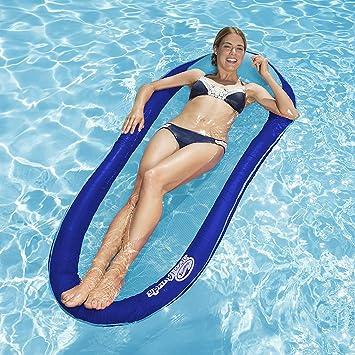 Swimways – Hamaca Flotante Hinchable – Colchoneta Playa – Sillón ...