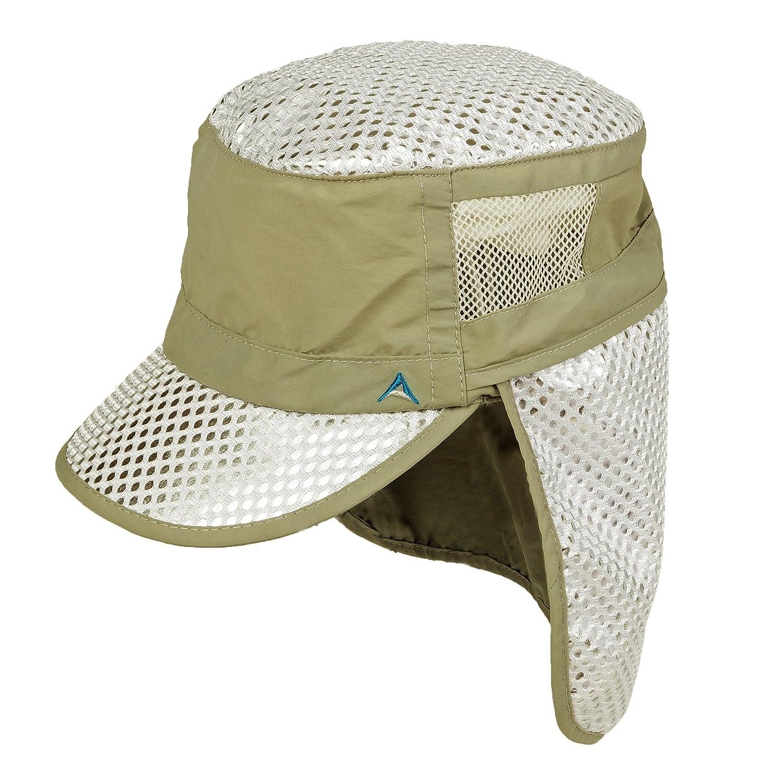 9008ac56715b69 Amazon.com: Alchemi Sun Hats Sun/Desert Hat, Khaki: Sports & Outdoors