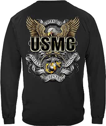 Erazor Bits USMC Duty Honor Country T Shirt MM2351