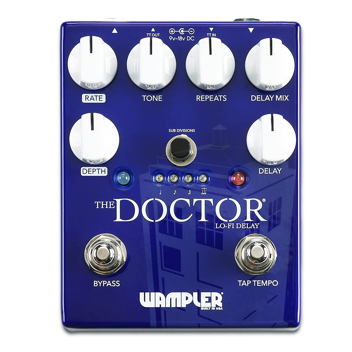 Wampler Pedals [ワンプラーペダル] The Doctor (正規輸入品)   B074PY281F