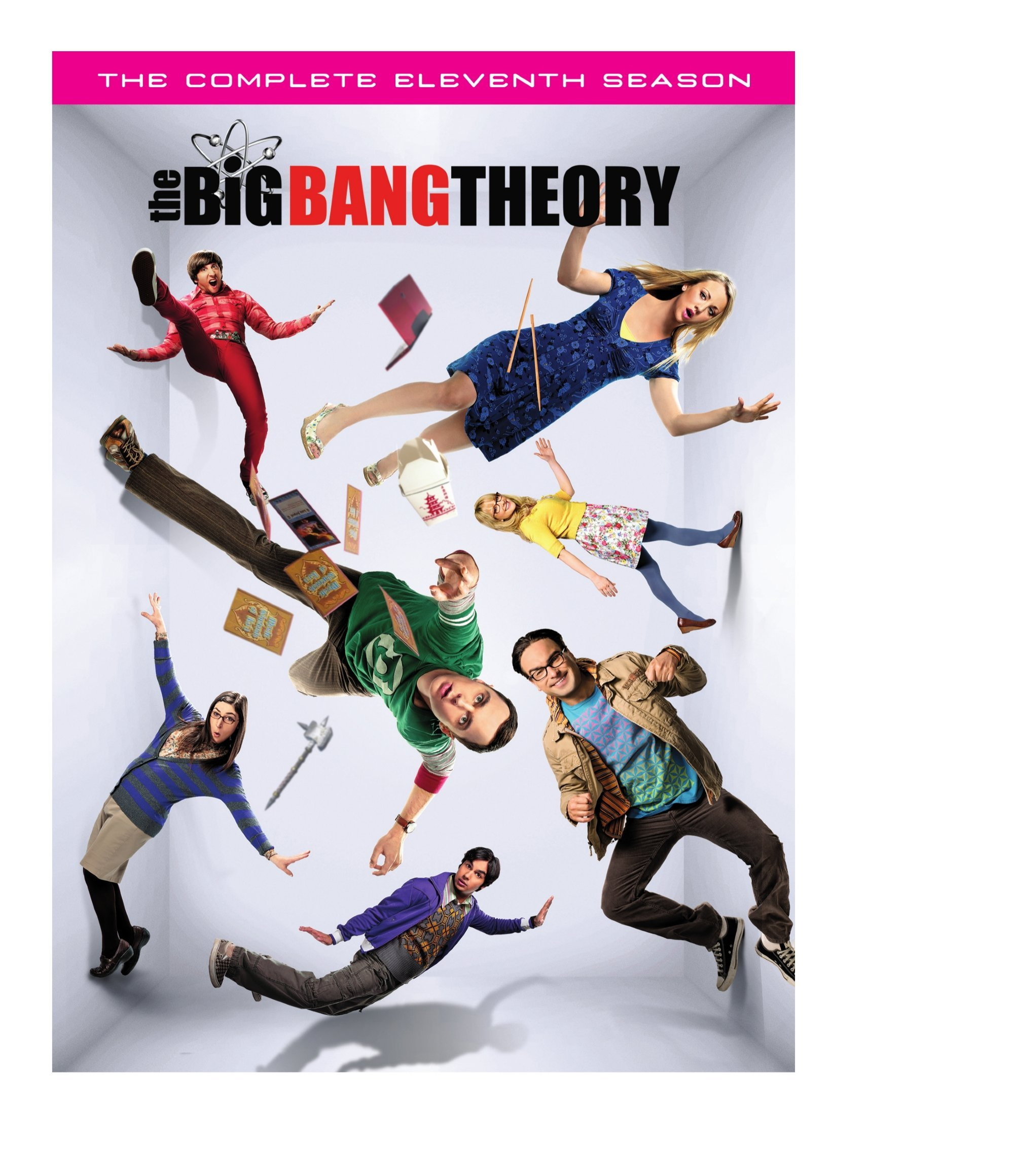 DVD : The Big Bang Theory: The Complete Eleventh Season (2 Pack, Amaray Case, Subtitled, Dolby, AC-3)