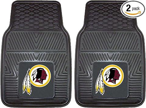 FANMATS 17354 NFL Washington Redskins 2-Piece Embroidered Car Mat