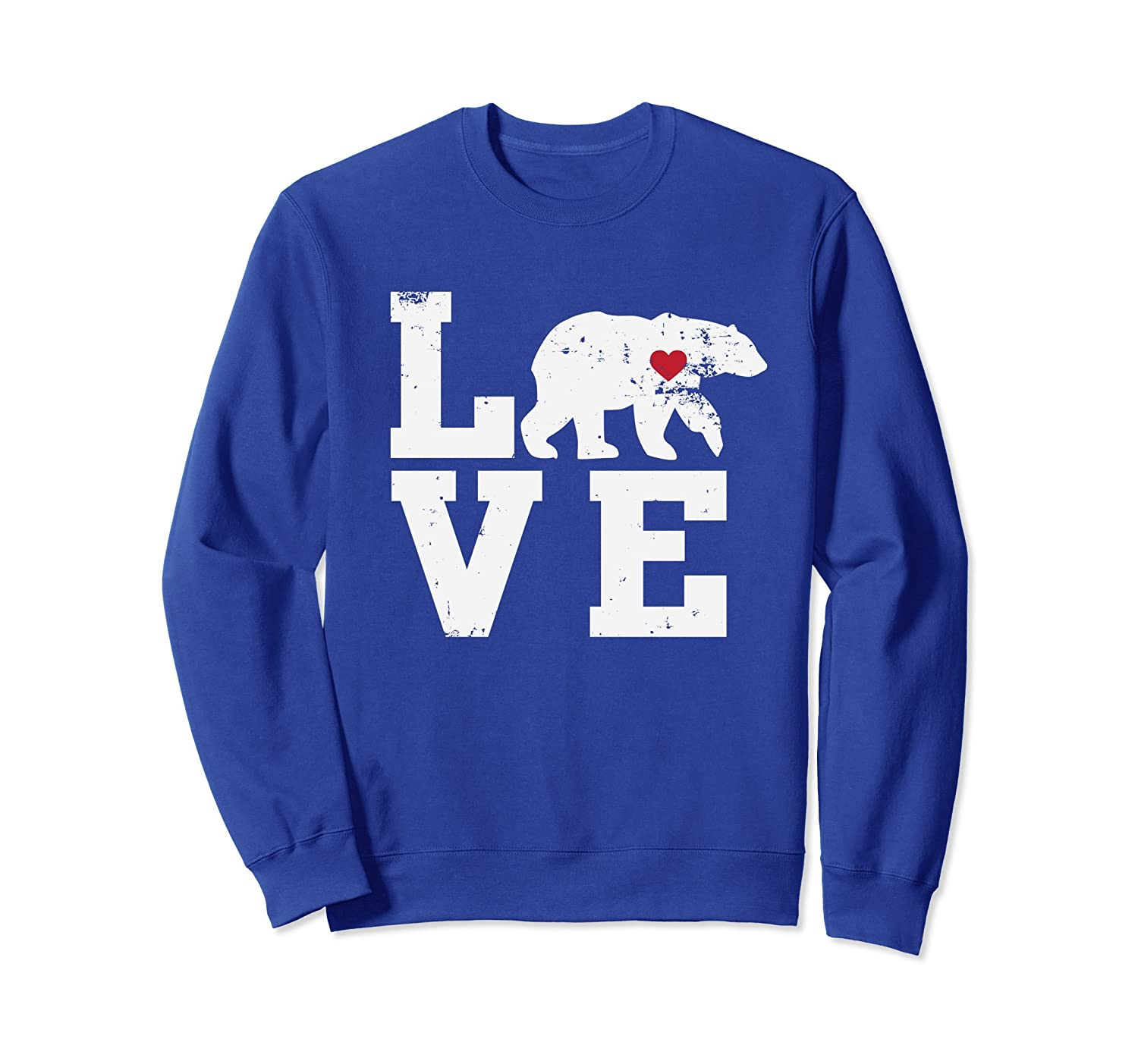 Love Polar Bears, Love The Outdoors Sweatshirt-AZP