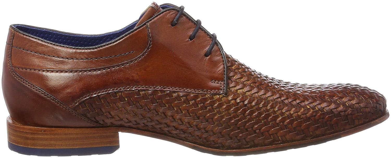 Daniel Hechter 811229101800, Chaussures Derby Homme - Bleu - Bleu (Dark Blue), 44 EU