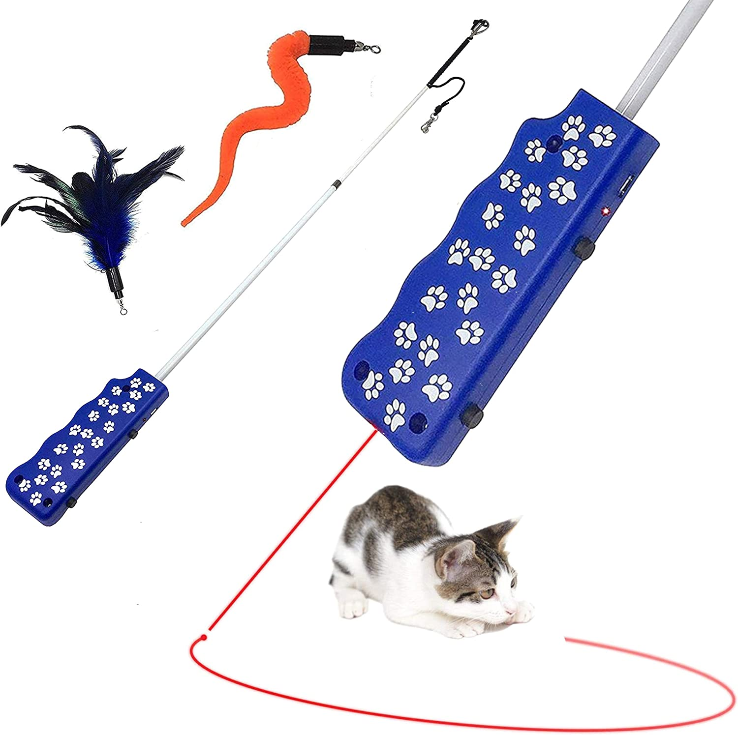 8. Pet Fit For Life Wand & LED Laser Combo Cat To