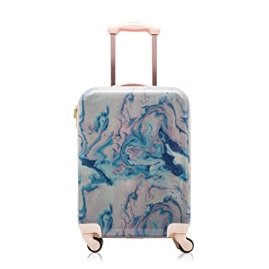 Cosmopolitan Fashion 21 (with Wheels) Flight Legal Hardcase Carry-on Suitcase (Pink)