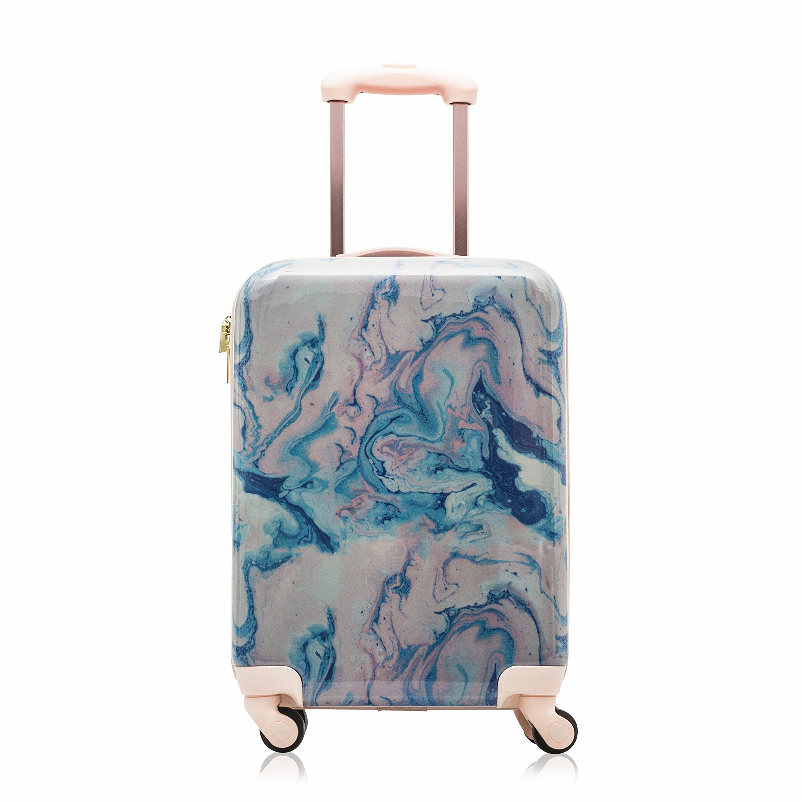 Cosmopolitan Fashion 21''(with Wheels) Flight Legal Hardcase Carry-on Suitcase (Pink)