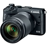 Canon EOS M6 24.2MP Mirrorless Digital Camera with EF-M 18-150mm f/3.5-6.3 IS STM Lens - Manufacturer Refurbished