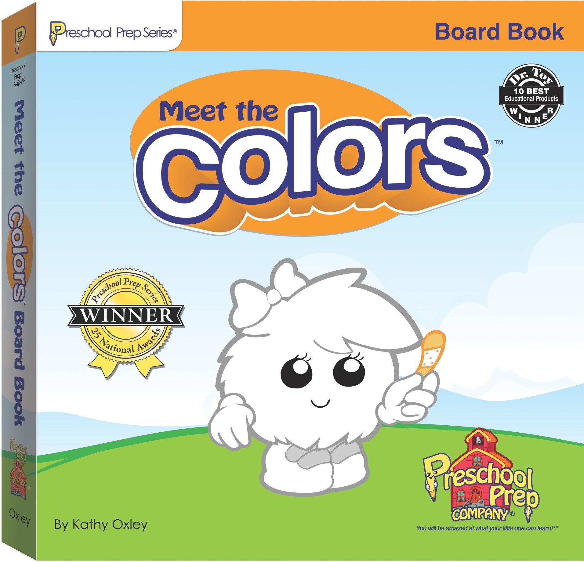 Meet the Colors Board Book Kathy Oxley Sherwin Rosario
