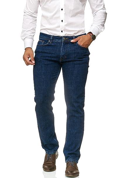 Barbons Vaquero de Hombre - Slim-fit - elástico - Jeans ...