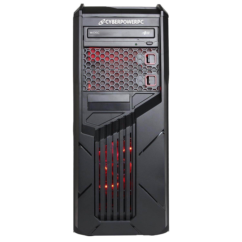 CyberpowerPC Gamer Ultra GUA3400A Gaming Desktop - AMD FX-6300 Six Core 3.5GHz, 8GB DDR3 RAM, 1TB HDD, 24X DVD, AMD R7 250 2GB, Windows 10 Home