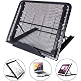 Light Box Pad Stand, Multifunction 7 Angle Points Skidding Prevented Stand LED Light Table/Huion Laptop LED Light Table A4 LB4 L4S and Most tracing Ligh Box pad