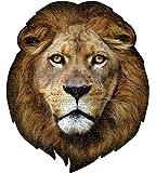550ピース ジグソーパズル ビッグフェイス【ライオン】(75×65cm)