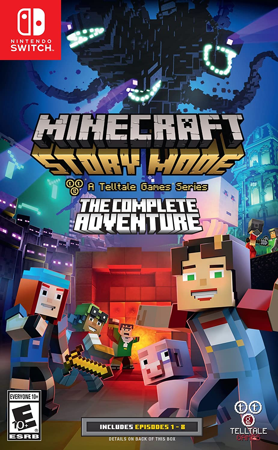 Amazoncom Minecraft Story Mode The Complete Adventure - Minecraft pc spiele kaufen