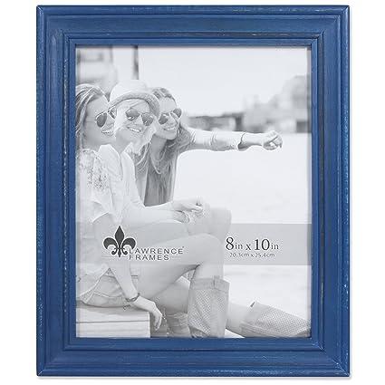 Amazon.com - Lawrence Frames Weathered Woods 8x10 Durham Navy Blue ...