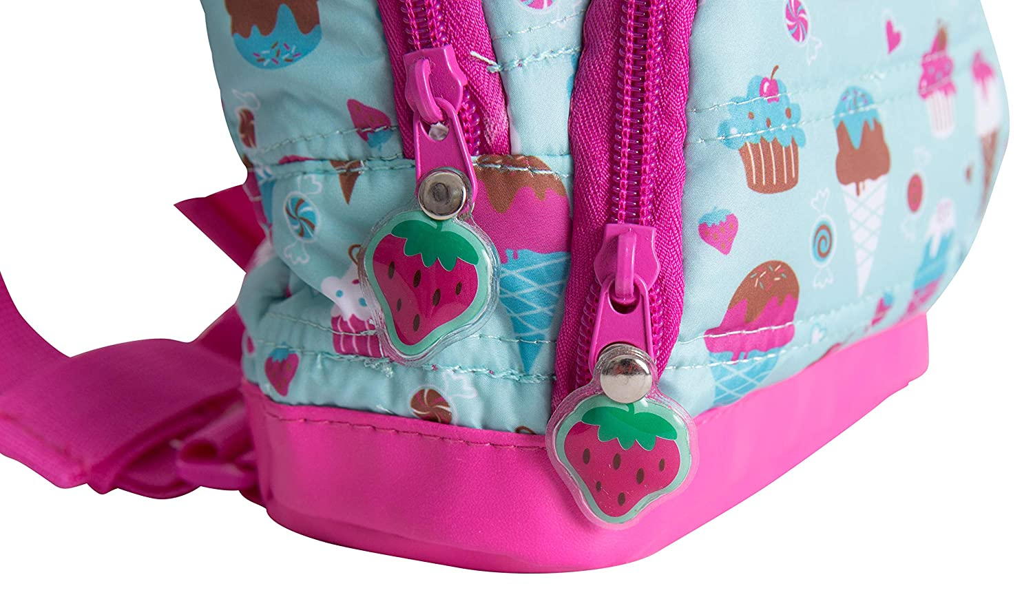 Nuby Quilted Wild Child Backpack with Safety Harness Leash Child Baby Toddler Travel