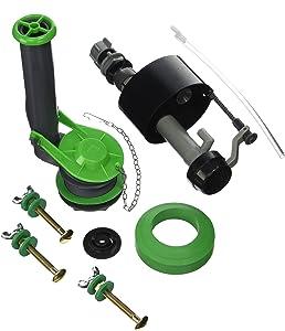 Plumb Pak K830-16BX Universal Water Saving Tank Repair Kit for 2-Inch Flush Valve Toilets, Gray/Green