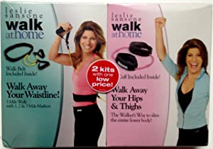 Leslie Sansone Walk at Home 2 Pack: Walk Away Your Waistline & Walk Away Your Hips & Thighs