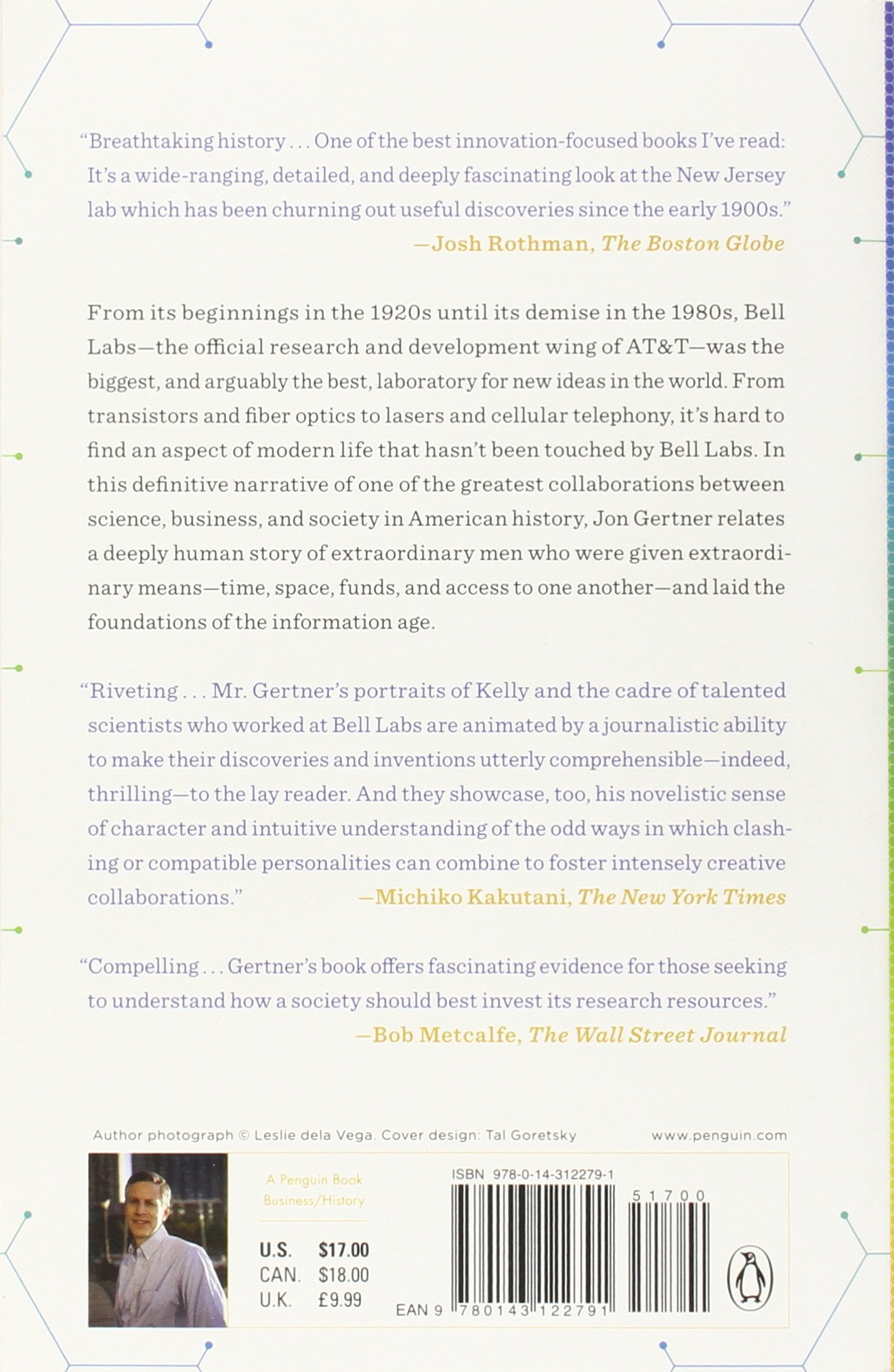 The idea factory bell labs and the great age of american innovation the idea factory bell labs and the great age of american innovation jon gertner 0884819703136 amazon books fandeluxe Choice Image