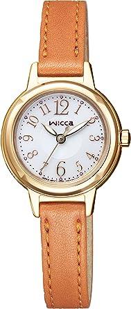 CITIZEN ソーラーテック 腕時計 KH9-922-12 シンプルかわいいデザイン wicca ウィッカ /[シチズン/] レディース
