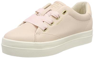 GANT Footwear Damen Amanda Sneaker, Schwarz (Black), 37 EU