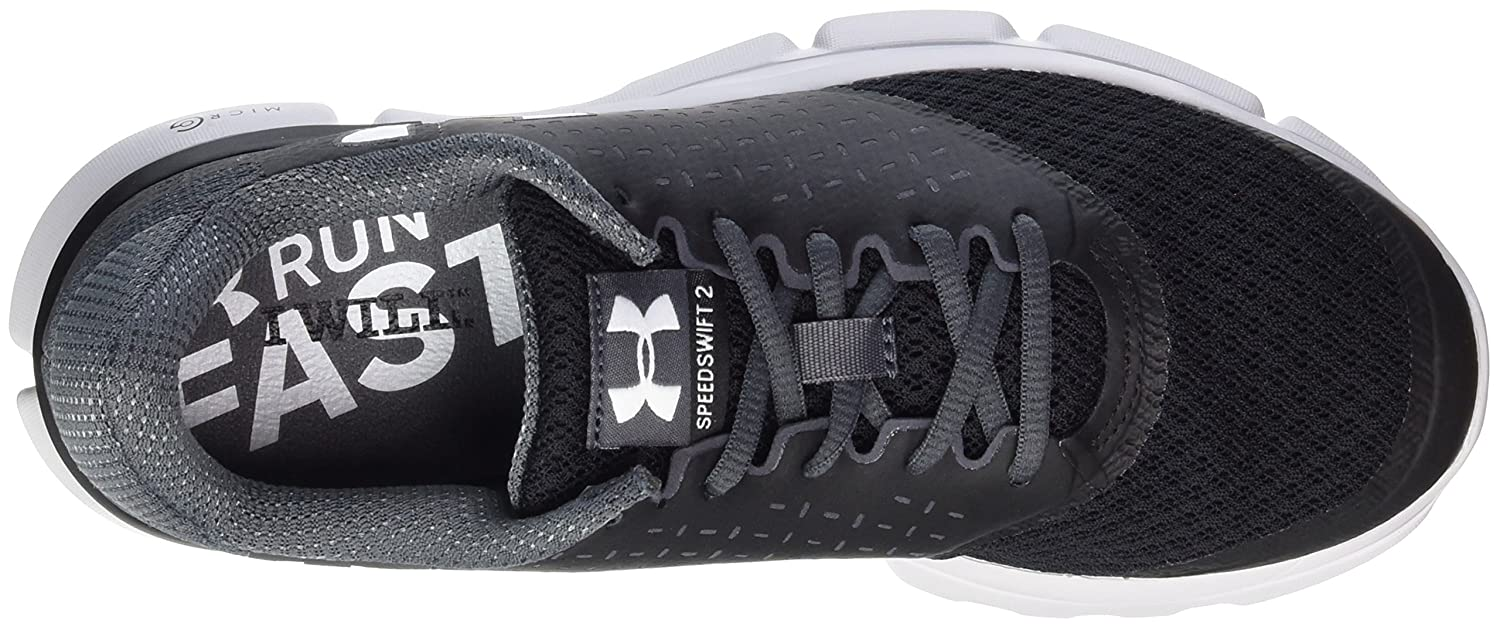 Under Armour Women's Speed Swift 2 Running Shoe B01GQIZT1Y 8 M US|Black
