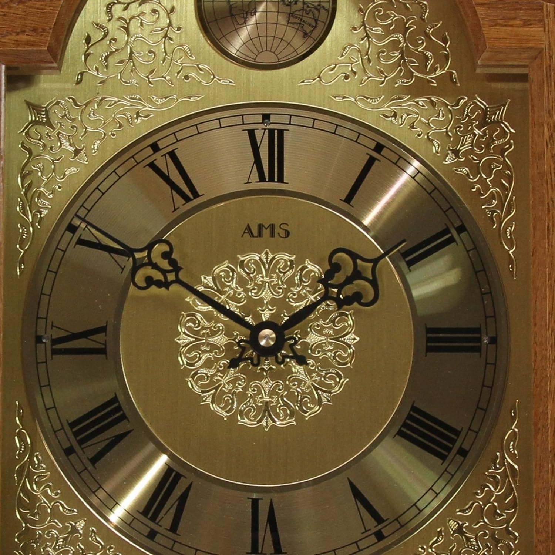AMS Wanduhr mit Westminsterschlagwerk H-2532-4: Amazon.de: Uhren