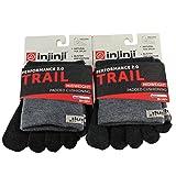 Injinji Unisex Trail Midweight Padded Cushioning