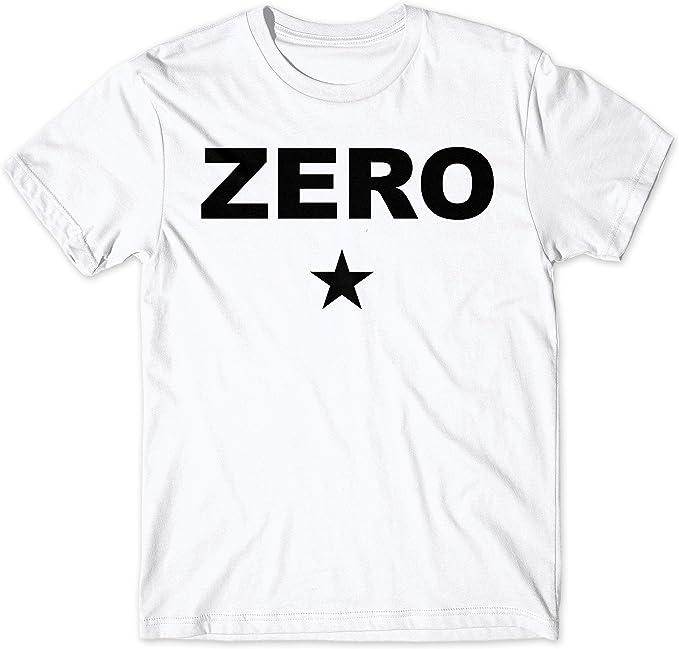 LaMAGLIERIA Camiseta Hombre Zero - Camiseta Smashing Pumpkins 100 ...